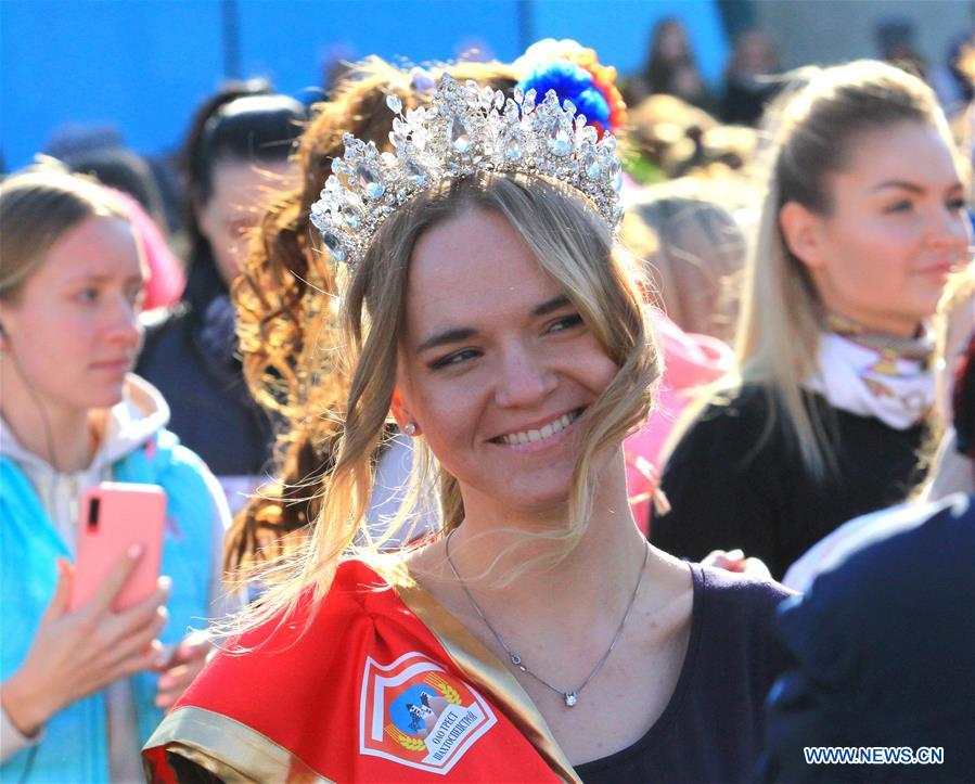 BELARUS-MINSK-INTERNATIONAL WOMEN'S DAY-BEAUTY RUN