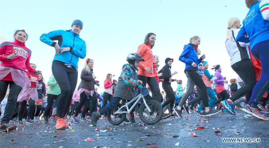 BELARUS-MINSK-INTERNATIONAL WOMEN'S DAY-BEAUTY RUN