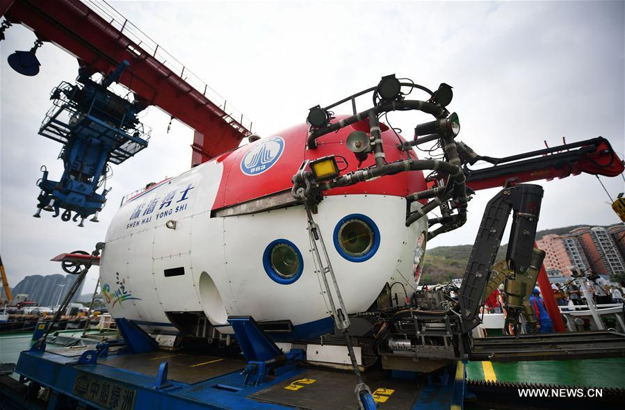 CHINA-HAINAN-SANYA-MANNED SUBMERSIBLE-RETURN (CN)