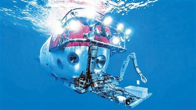 """中国载人深潜""""深海勇士""""向海底一万米进发 期待更高纪录"""