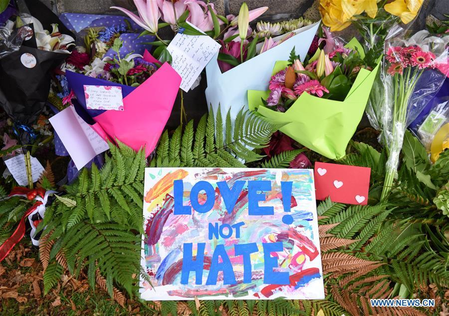 People mourn victims of Christchurch mosque attacks in New Zealand