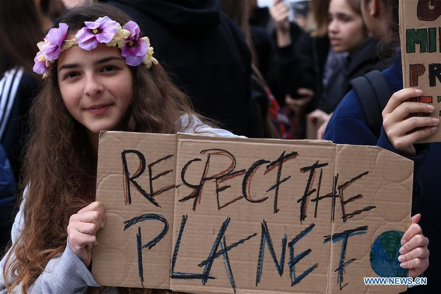 Students worldwide march for action on climate change