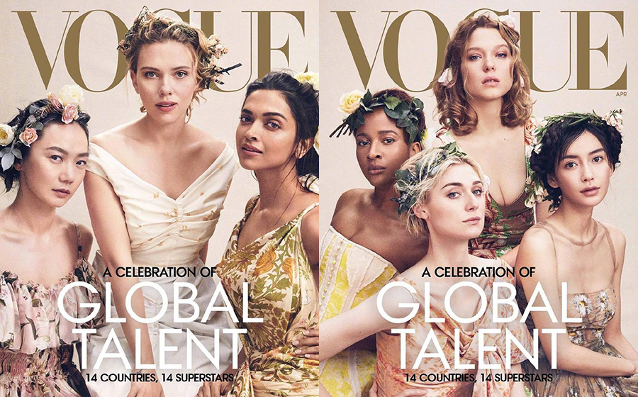 Angelababy on American Vogue cover sparks debate