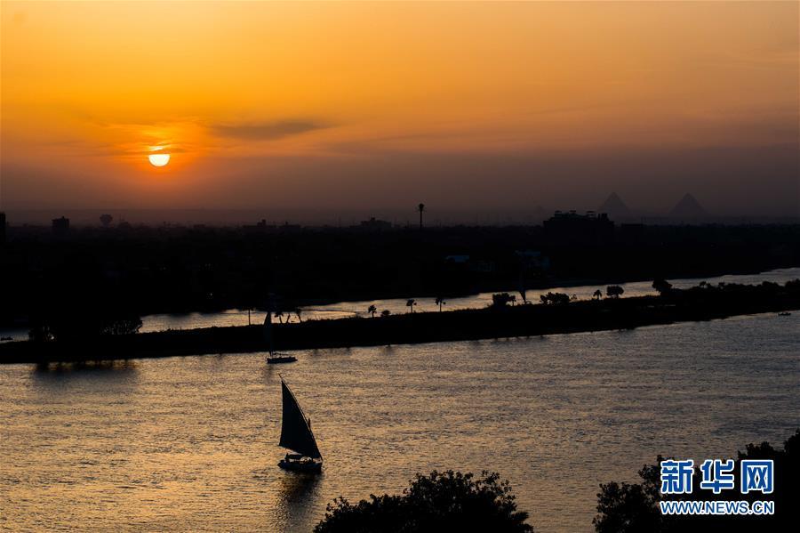(视・觉)日落尼罗河