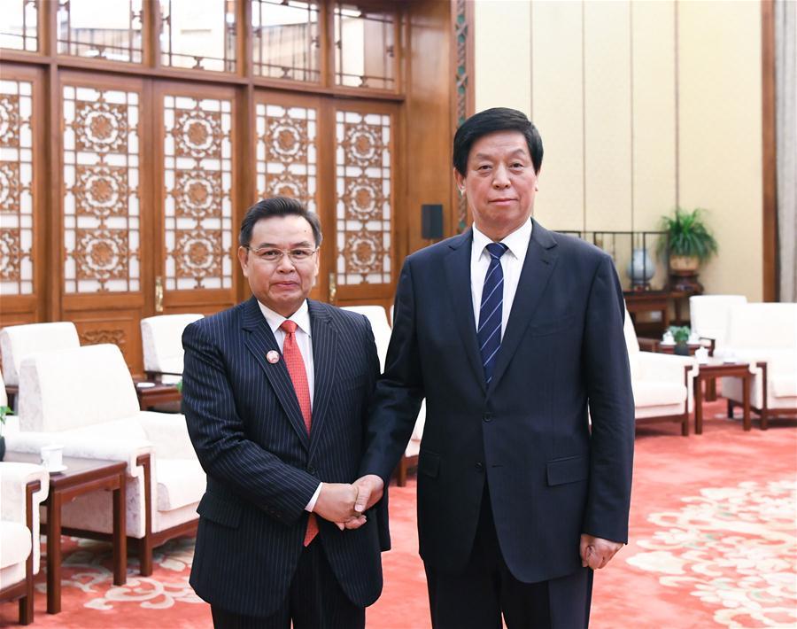 CHINA-BEIJING-LI ZHANSHU-LAOS-MEETING (CN)