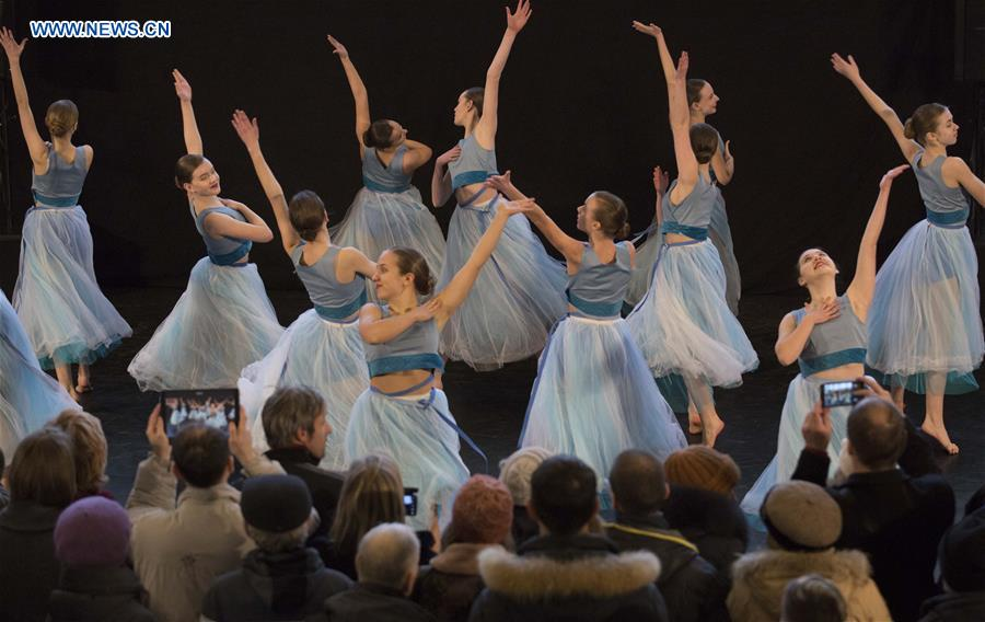 Opening event of 24th Int'l Baltic Ballet Festival held in Riga, Latvia