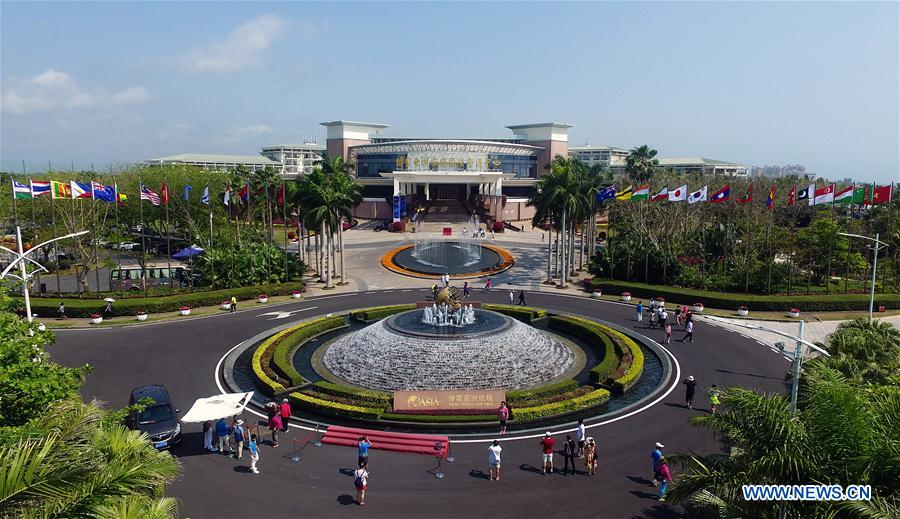 Scenery of Boao, host place of annual conference of BFA
