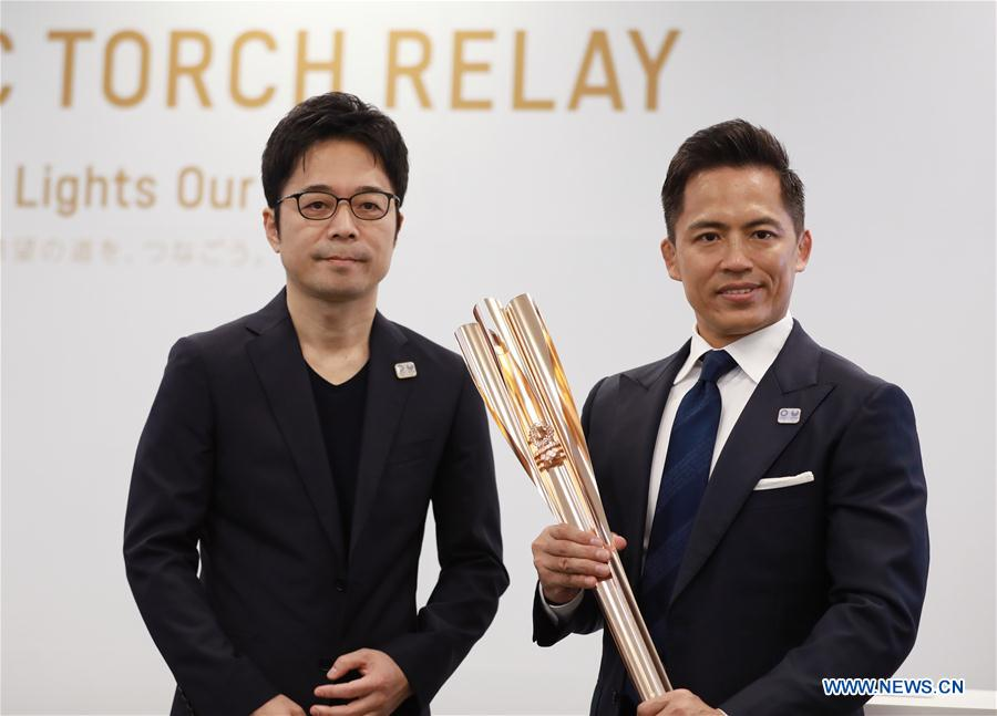 (SP)JAPAN-TOKYO-OLYMPIC-TORCH