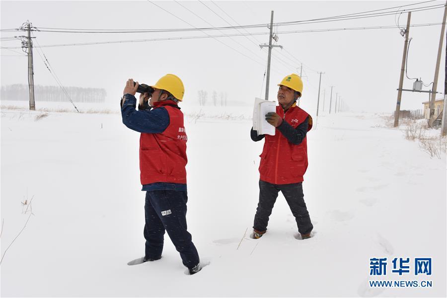 (社会)(10)吉林长春:积极应对风雪考验
