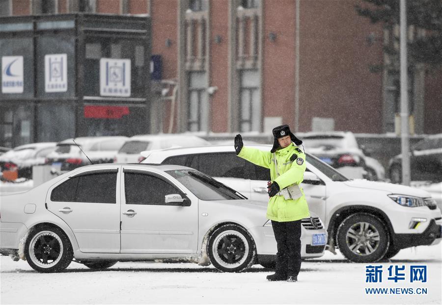 (社会)(3)吉林长春:积极应对风雪考验