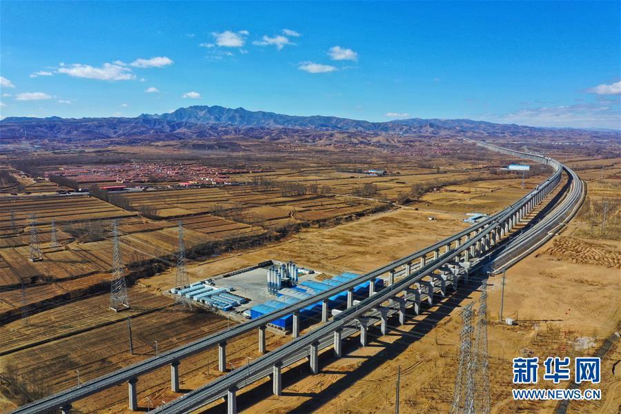 (经济)(1)北京冬奥会配套工程大张高铁线下工程完工