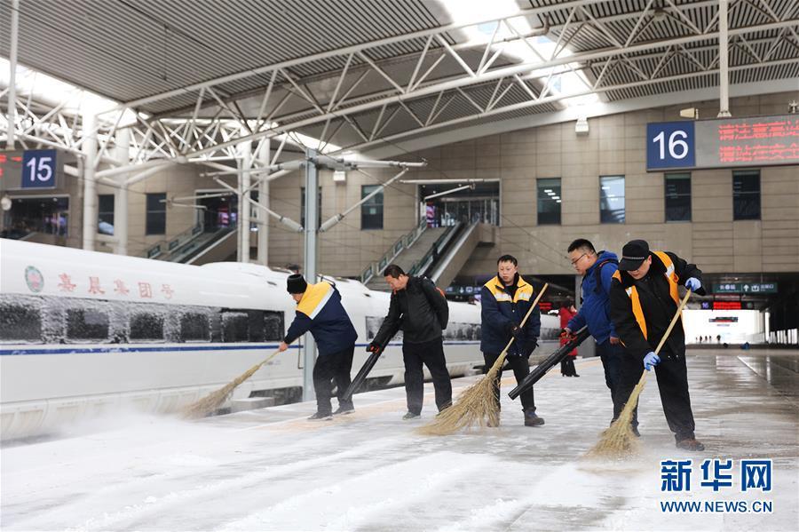 (社会)(4)吉林长春:积极应对风雪考验