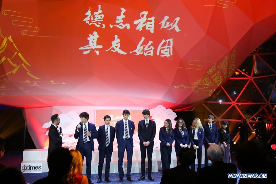 Gala marking friendship between China and Italy held in Rome