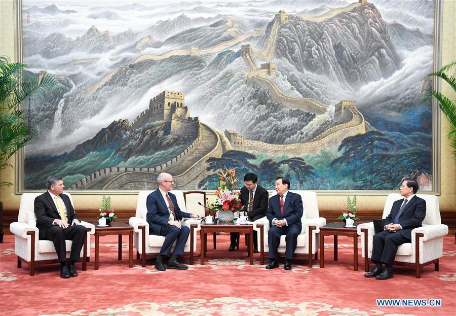 CHINA-BEIJING-WANG CHEN-U.S. DELEGATION-MEETING (CN)