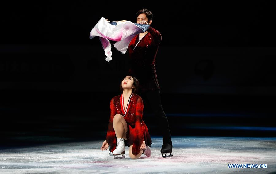 (SP)JAPAN-SAITAMA-FIGURE SKATING-WORLD CHAMPIONSHIPS-GALA EXHIBITION