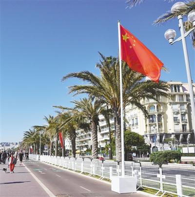 中国国旗矢量图图片