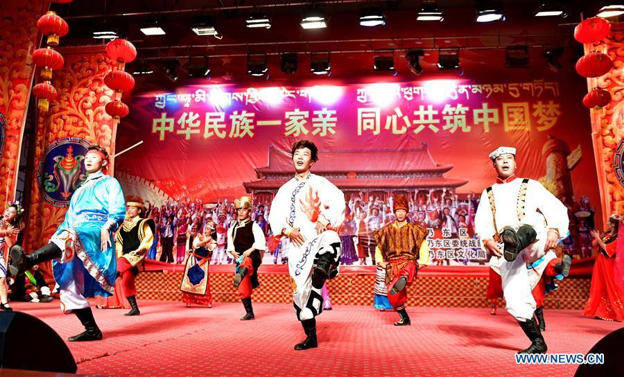 Performance held to mark Tibet's Serfs' Emancipation Day