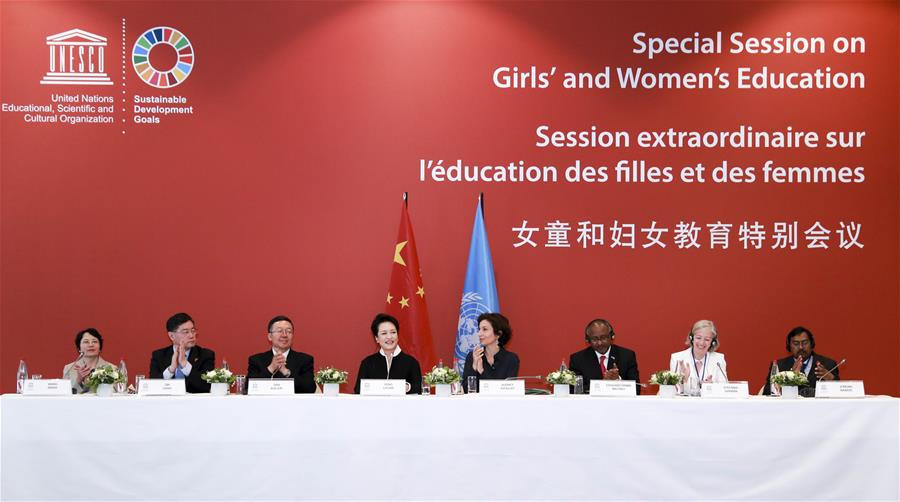 FRANCE-PARIS-PENG LIYUAN-UNESCO-SPECIAL SESSION