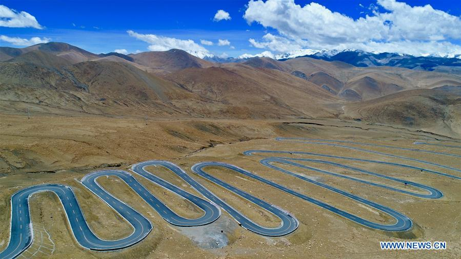 Tibet's infrastructure improved as comprehensive transportation network formd