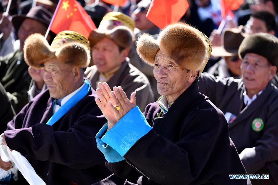 CHINA-LHASA-60TH ANNIVERSARY-CAMPAIGN-DEMOCRATIC REFORM (CN)