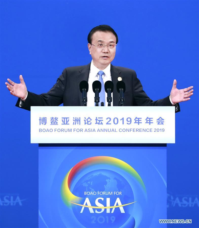 CHINA-BOAO-LI KEQIANG-SPEECH (CN)