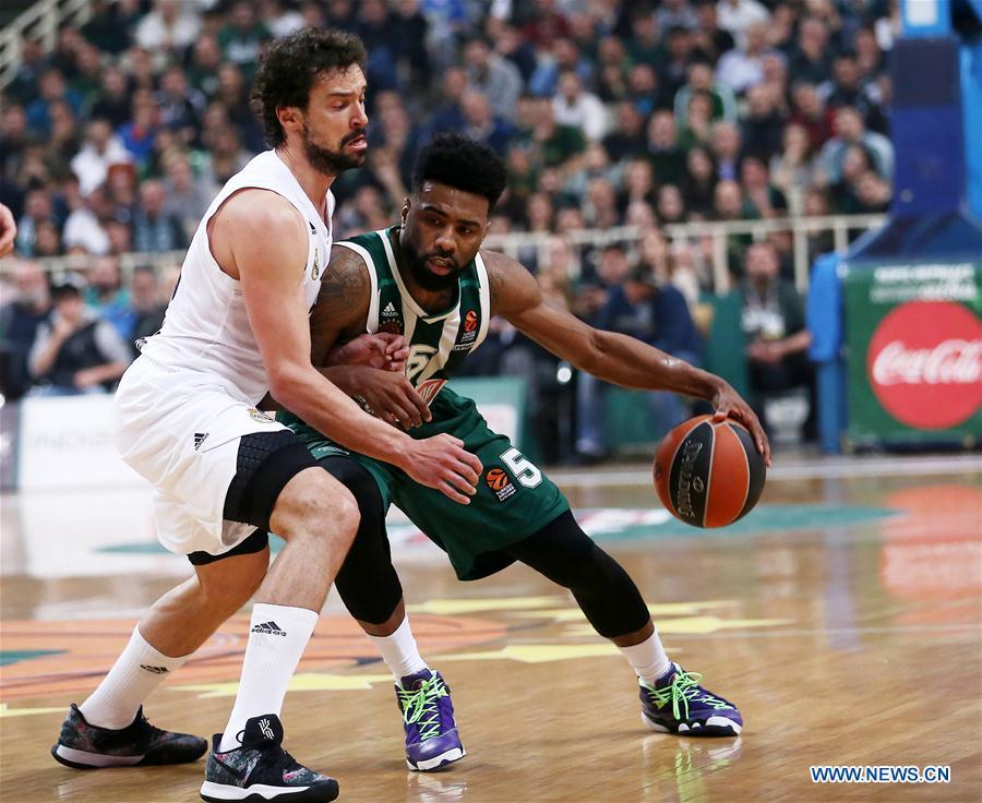 (SP)GREECE-ATHENS-BASKETBALL-EUROLEAGUE-PANATHINAIKOS VS REAL MADRID