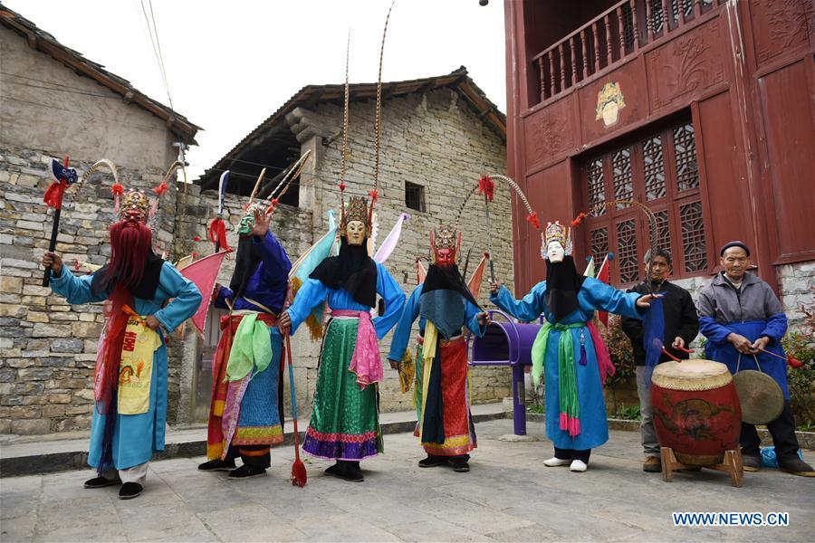 CHINA-GUIZHOU-ANSHUN-DIXI OPERA (CN)