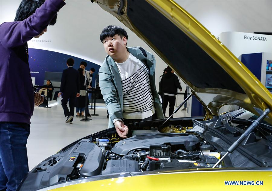 2019 edition of Seoul Motor Show held in South Korea