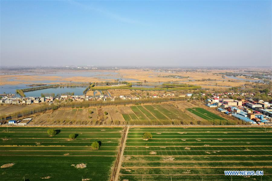 CHINA-XIONGAN NEW AREA-ANNIVERSARY-AERIAL VIEW (CN)