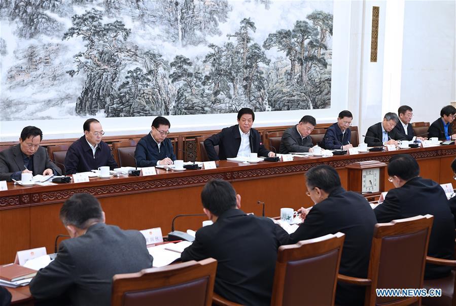 CHINA-BEIJING-LI ZHANSHU-SME LAW-MEETING (CN)