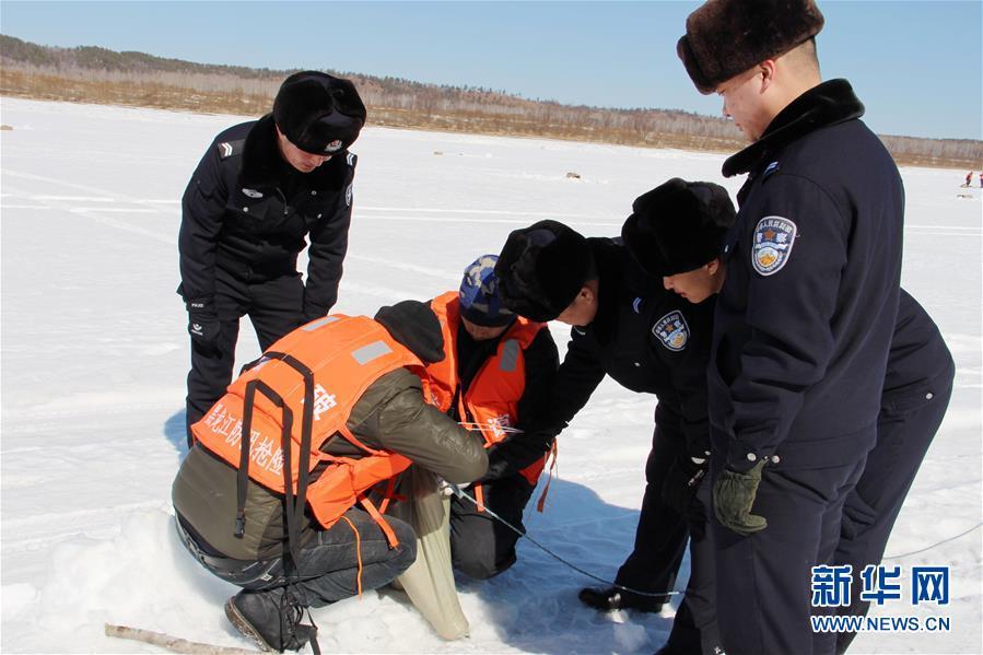 #(环境)(3)黑龙江大兴安岭:破冰防凌汛