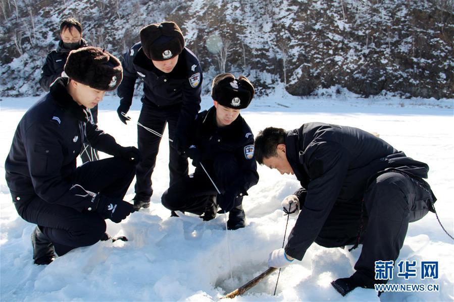 #(环境)(2)黑龙江大兴安岭:破冰防凌汛