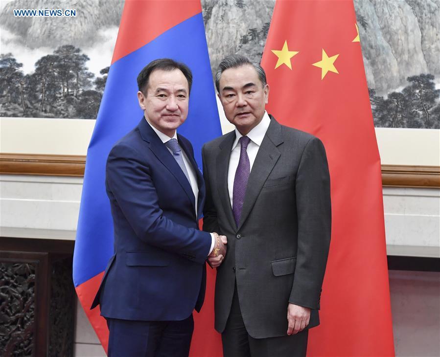 CHINA-BEIJING-WANG YI-MONGOLIAN FM-TALKS (CN)