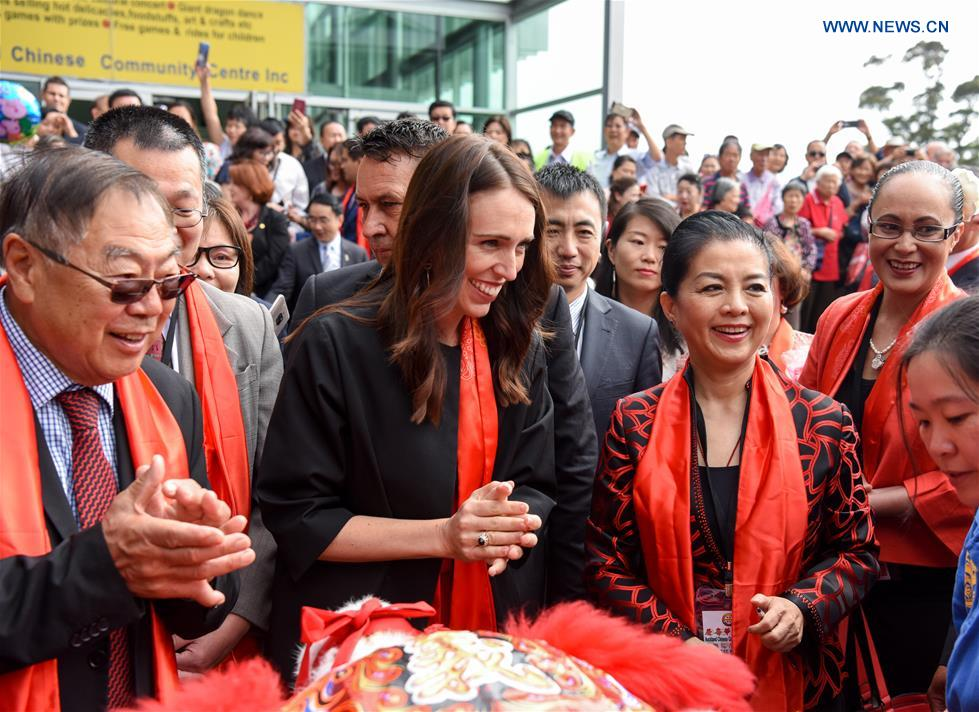New Zealand PM's China visit to promote ties, boost cooperation under BRI