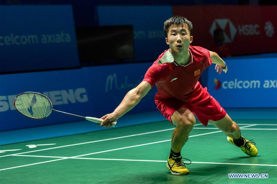 Malaysia Open men's singles first round matches