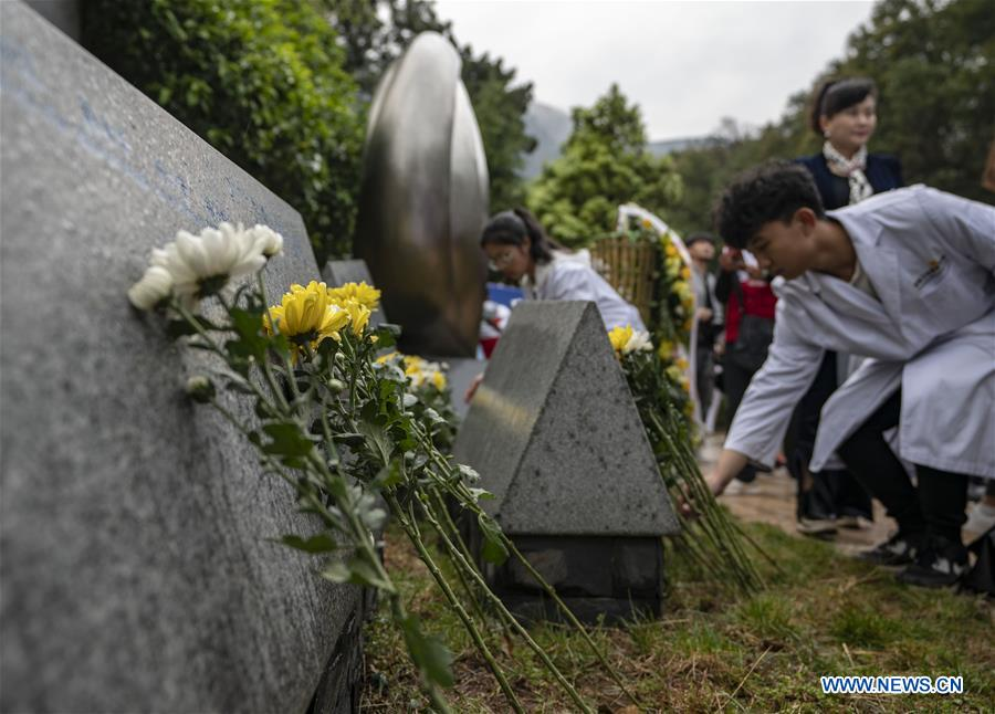 People commemorate organ donors in SW China's Yunnan