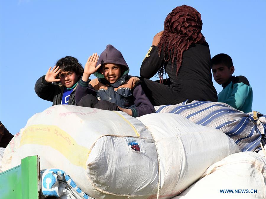 More civilians leave rebel-held Rukban camp in Syria