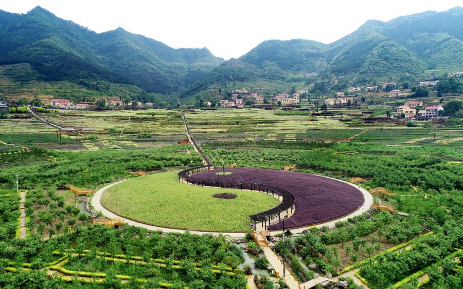 Eight Diagrams landscape draws tourists to Guizhou