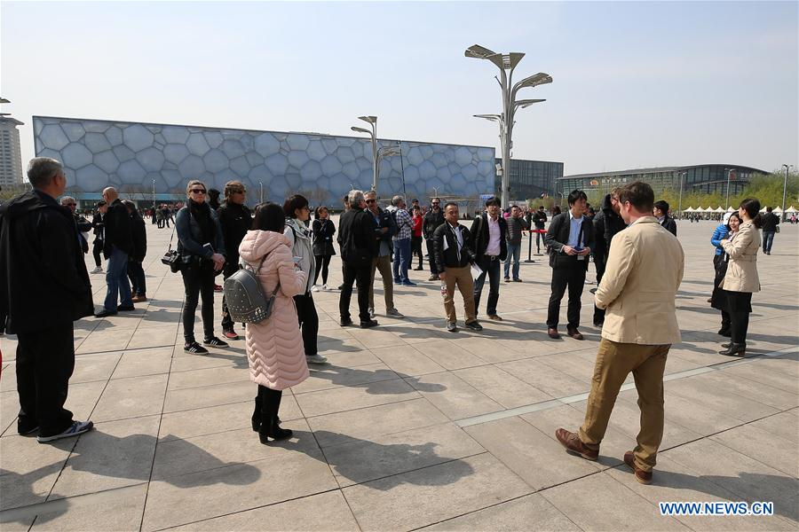 World news agencies visit 2022 Beijing Winter Olympic sites