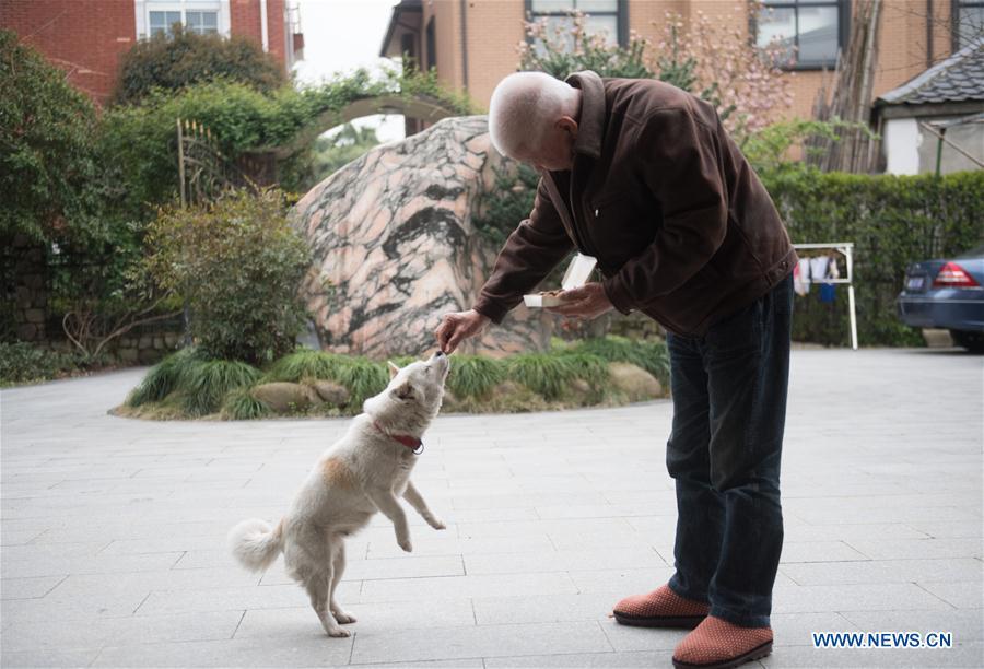 Elderly life in east China's Zhejiang