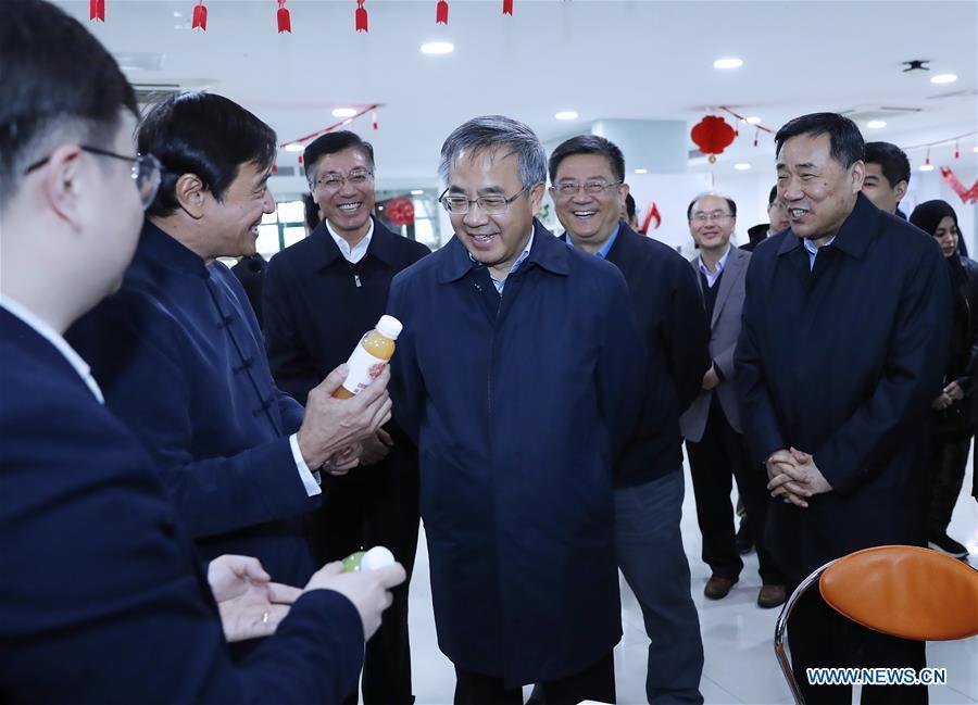 CHINA-BEIJING-HU CHUNHUA-INSPECTION (CN)