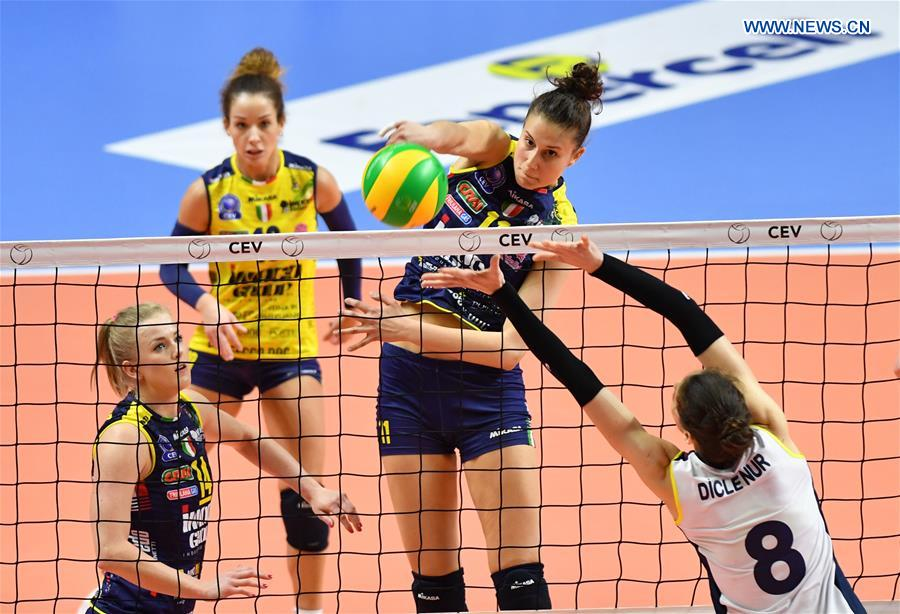 (SP)TURKEY-ISTANBUL-VOLLEYBALL-CEV CHAMPIONSHIPS LEAGUE-SEMIFINAL