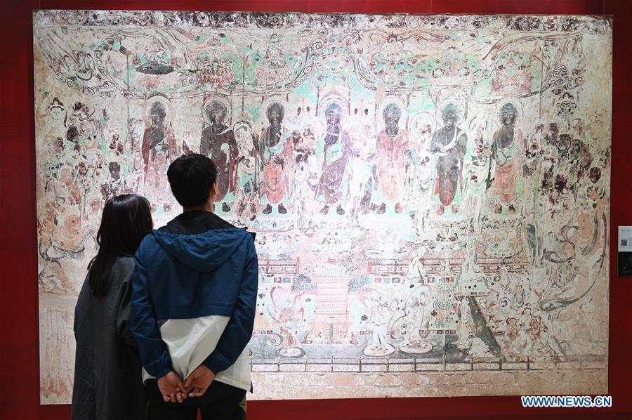 CHINA-KUNMING-DUNHUANG FRESCO-ITINERANT EXHIBITION (CN)