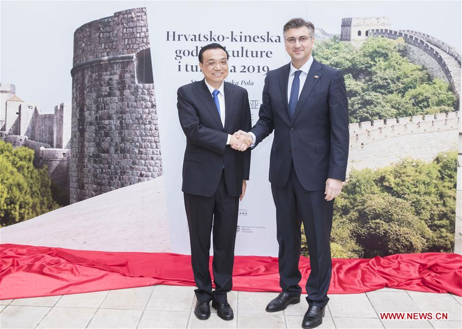 CROATIA-ZAGREB-CHINA-LI KEQIANG-YEAR OF TOURISM-OPENING CEREMONY