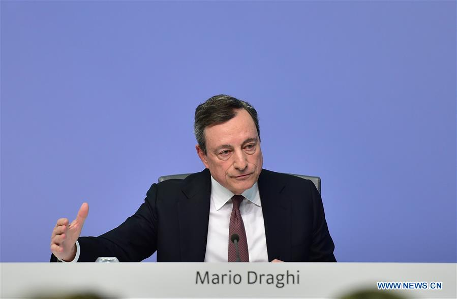 ECB keeps interest rates unchanged as expected