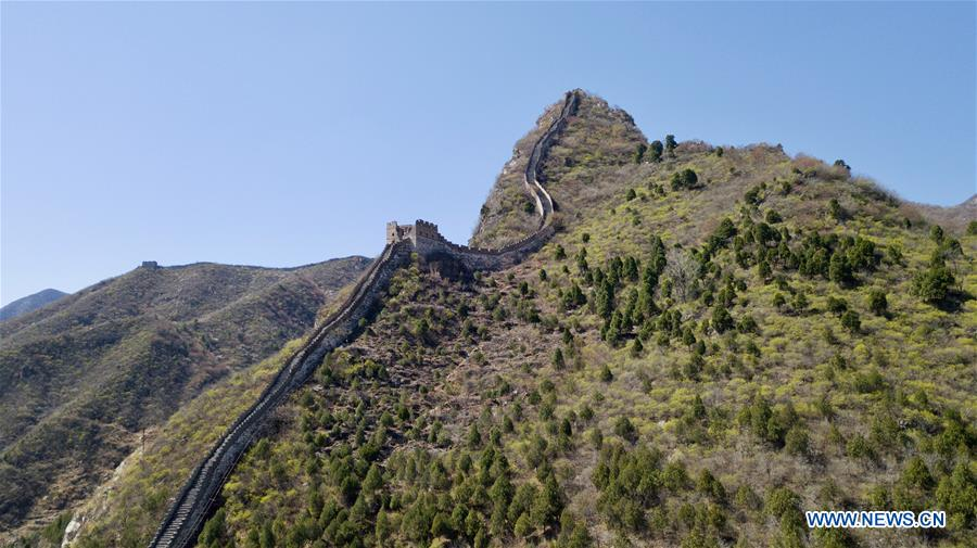 CHINA-BEIJING-GREAT WALL-XIANGSHUIHU-SCENERY (CN)