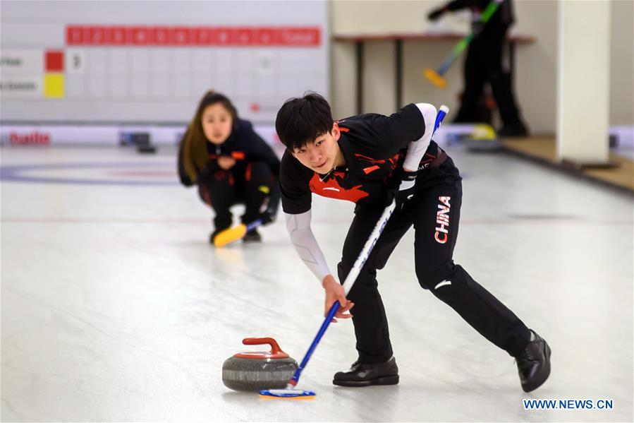 WCT Latvian Mixed Doubles Curling Cup