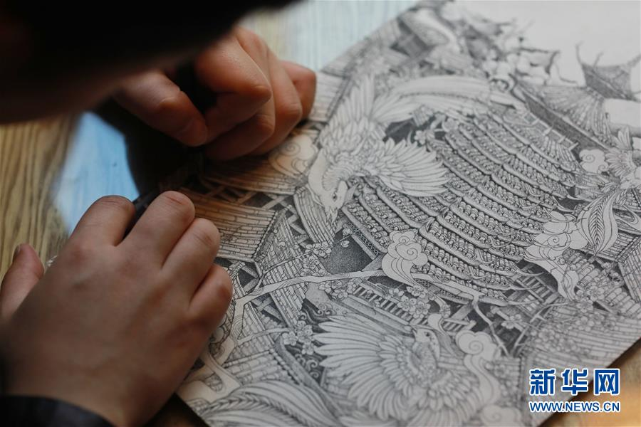 """(文化)(7)""""90后""""侗族插画师:传承民族文化之美"""
