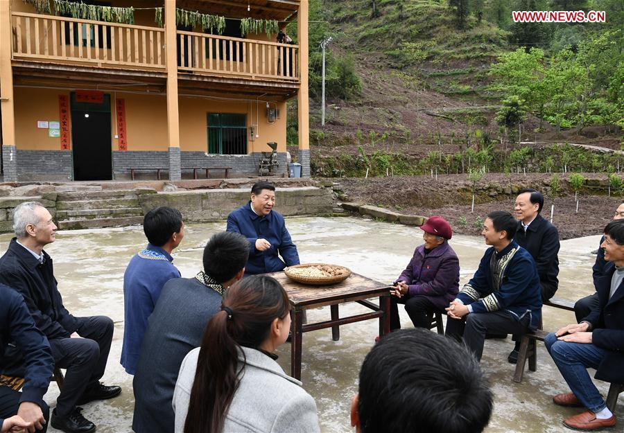 CHINA-CHONGQING-XI JINPING-INSPECTION (CN)