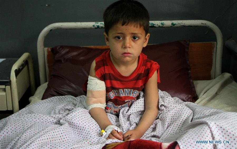 7 children dead, 10 injured in E. Afghan explosion